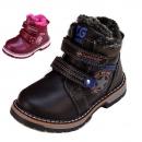 Klassische Damen Stiefel Schleifen Perlen Leder-Optik schuhe 814003 Trendy Neu
